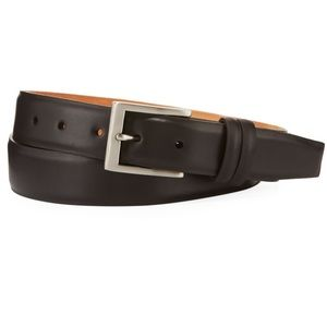 W. Kleinberg For Neiman Marcus Brown Leather Belt.